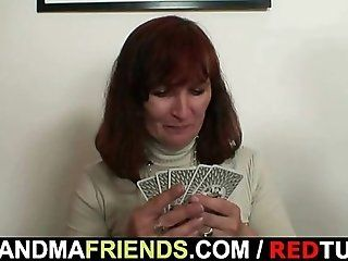 Group;Mature;Redhead Strip poker leads...