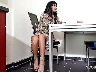 Cumshot;Mature;MILF;POV;HD German Mother Helps Step-Son to get...