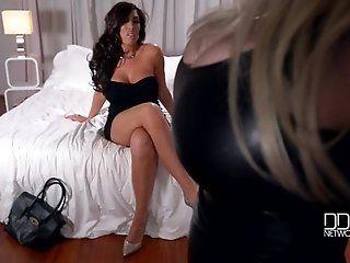 Big Tits;Lesbian;Mature;HD Sandra Star and...