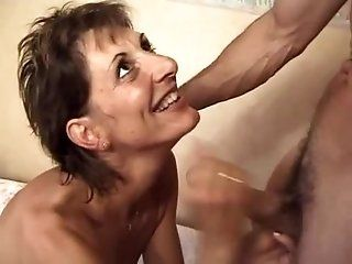 French,Hairy,Mature,DP,Group Sex