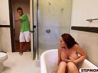Mature,MILFs,College Huge boobs stepmom Monique Alexander...