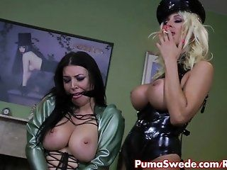 Big Tits;Lesbian;Mature;Fetish;MILF;Blonde;Lingerie;HD Puma Swede Gives...