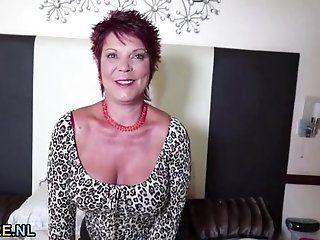 Big Tits;Mature;Masturbation;Redhead Kinky redhead...