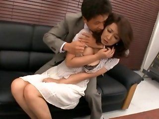 Asian,Japanese,Blowjob,Cumshots,Facial,Mature,Hardcore,Lingerie Risa Kasumi is a...