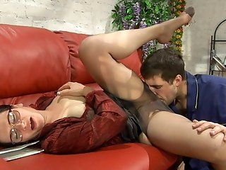 Fetish,Mature,Stockings,Brunette,Fingering,Cunnilingus,Hardcore,Big Tits,Big Butt Check out Lucas moving in on Elsa and...
