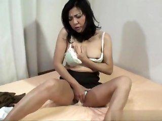 Asian;Mature;Japanese;Creampie;HD Misako Date 50...