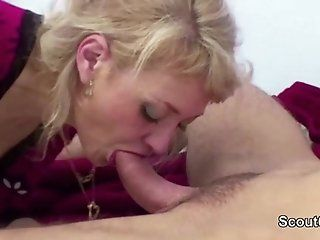 Anal;Mature;MILF;HD Mom Wake Up 18yr old Step-Son to Fuck