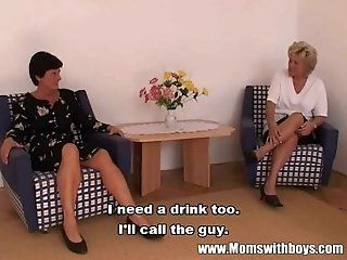 Grannies,Hardcore,Mature,Anal,Big Tits,Blonde,Blowjob,DP,European,Hairy,Panties,Threesomes Two grannies...