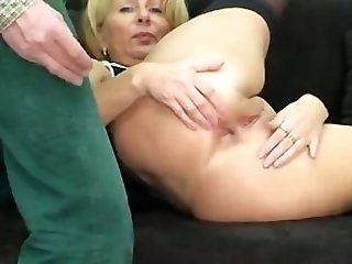 Amateur;Mature;MILF Anal with blonde...