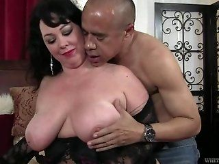 Big Tits;Mature Big Tits Mature Alexis Couture Nailed