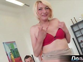 Mature;Facials;MILF;Interracial;Blonde;HD Mature milf...