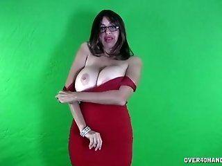 Big Tits;Mature;HD Old stripper POV...