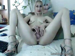 Mature;Masturbation;Blonde Small titted...