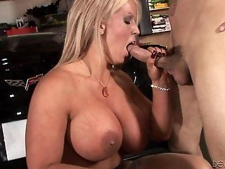 Big Tits;Mature;MILF;Blonde;Lingerie;HD Alura Jenson...