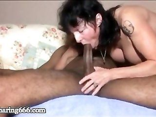 Anal;Mature;Interracial;Creampie Mature Wife...