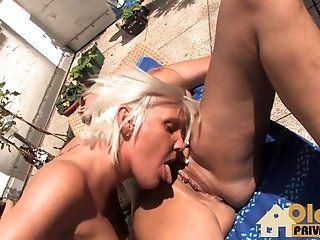 Big Tits;Lesbian;Mature;Blonde;HD Lesben am Freitag