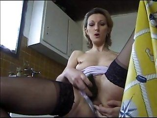 Anal;Mature;Blonde Horny French Milf Fuck Brother On...