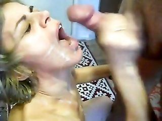 Cumshot;Mature;Facials;MILF jerkin' for...