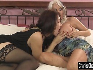 Big Tits;Group;Mature;MILF;HD Charlee Chase Shares a Cock