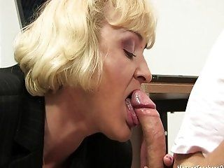Mature;Blonde MTO 13