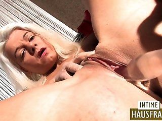Blowjob;Cumshot;Mature;MILF;Blonde;HD Dildo Test