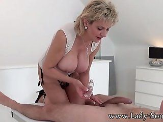 Big Tits;Blowjob;Cumshot;Mature;Blonde;HD Lady Sonia...