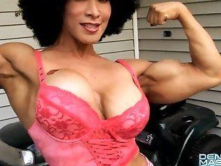 Big Tits;Mature;Latina;Masturbation;HD Denise Masino...