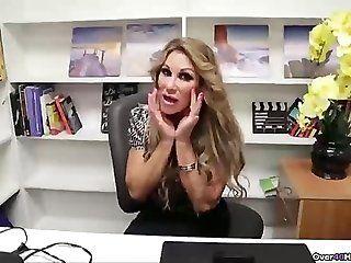 Big Tits;Mature;MILF;Blonde;POV;HD Busty milf POV...