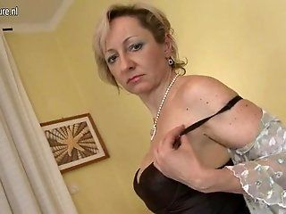 Mature;Blonde Old but Still Hot...
