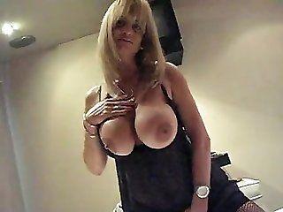 Big Tits;Blowjob;Amateur;Mature;MILF;Blonde;POV Madurita tetona...
