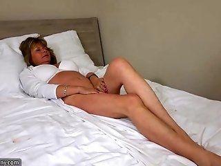 Lesbian;Mature;Blonde;HD OldNanny sexy mom...