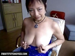Anal;Amateur;Asian;Mature All she do because lost a bet