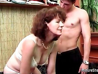 Blowjob;Mature Mature blows...