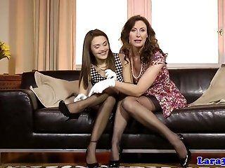Lesbian;Mature;HD British mature...