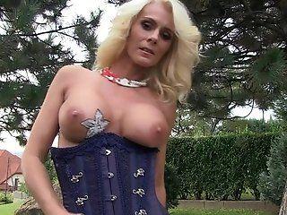 Big Tits;Anal;Mature;Masturbation;Blonde;Lingerie;HD HD - MILF Rosi