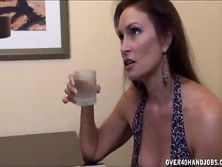 Big Tits;Mature Brunette milf...
