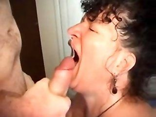 Mature mature cum in mouth