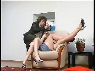 Lesbian;Mature RUSSIAN MATURE...