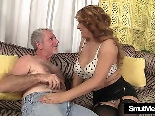 Big Tits;Mature;Facials;MILF;HD Big titted MILF Nikki rides a fat dick