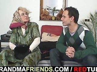 Mature;Blonde Naughty grandma...