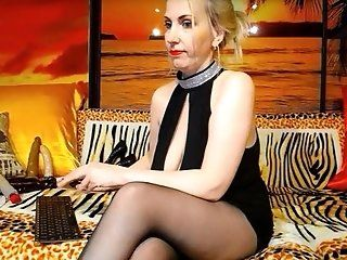 Mature;Blonde;Lingerie 12th Web Models...
