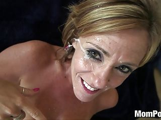 Cougars;Facials;Matures;MILFs;POV;HD Videos;Top Rated;Busty MILF;Big Tits Cougar;Big Tits Facial;Old Big Tits;Cougar Tits;Big Tits;Old;Mom POV 44 year old big tits cougar takes facial