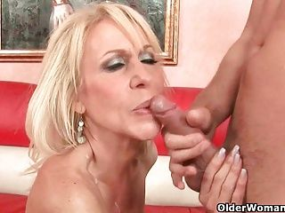 Cumshots;Facials;Grannies;Matures;MILFs;Cum in Mouth;Mouth Cum;Older Woman Fun Blow your cum...