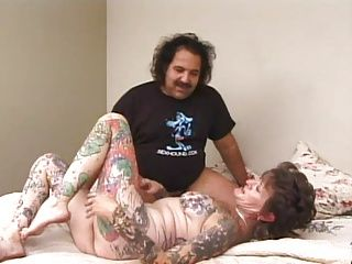 Matures;Pornstars;Tattoos;Butt;Mother Ron Jeremy...