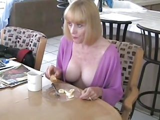 Big Boobs;Blowjobs;Matures;Old+Young;Not Her Son;Breakfast;Mother;Son Mother and Not...