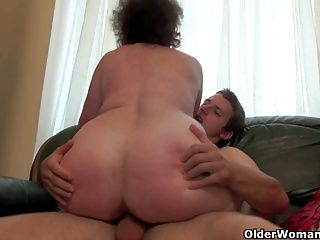 Cumshots;Grannies;Matures;MILFs;Old+Young;Chubby;Granny;Grandma;GILF;Fucking;Old;Orgasm;Couple;Mature Sex;Full Length;Chubby Granny;Older;Empty Your Balls;Empty Balls;Cum Filled;Older Woman Fun Mom will empty...
