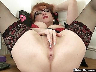 British;Cougars;Grannies;Matures;MILFs;Redhead;Granny;High Heels;Shaved Pussy;Mother;English;GILF;Solo;Office;Sweet MILF;British MILF;Sweet Pussy;British Pussy;Red Pussy;Her Pussy;Older Woman Fun British milf Red...