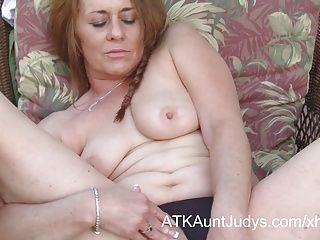 Amateur;Big Boobs;Masturbation;Matures;MILFs;HD Videos;Outdoor;Mother;Outside;Outdoors;Solo;Her Pussy;Fingers;Pussy;Aunt Judy's Cristine Ruby...
