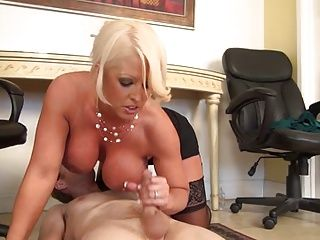 Big Boobs;Femdom;Handjobs;Matures;MILFs;Therapy;Busty MILF;MILF Cock Busty Milf Gives...