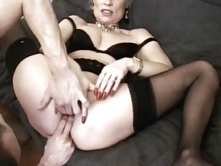 French;Gangbang;Matures;Fisting fist and gangbang for matures